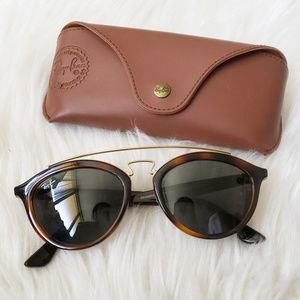 Rayban Gatsby Tortoise and Gold